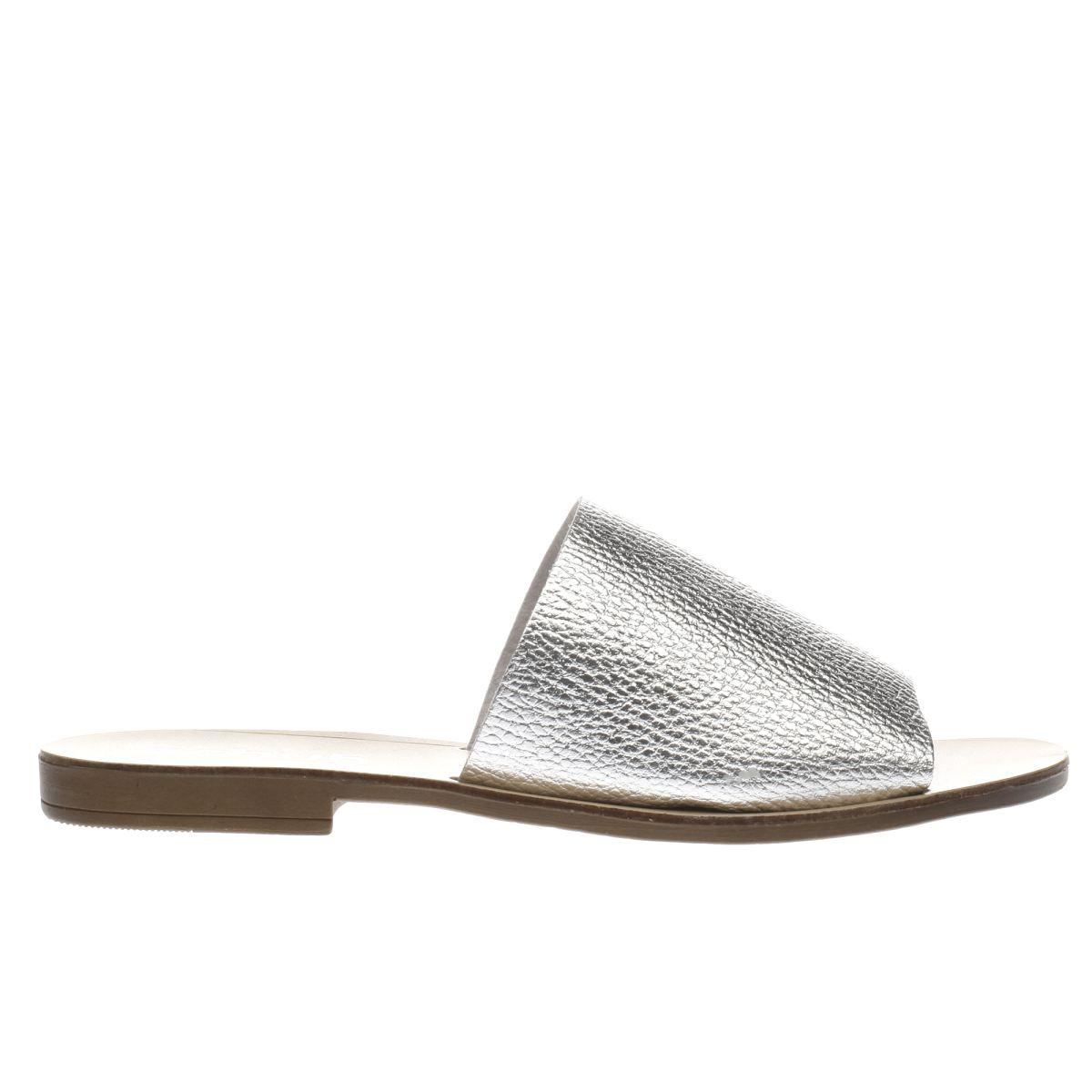 schuh silver bali sandals