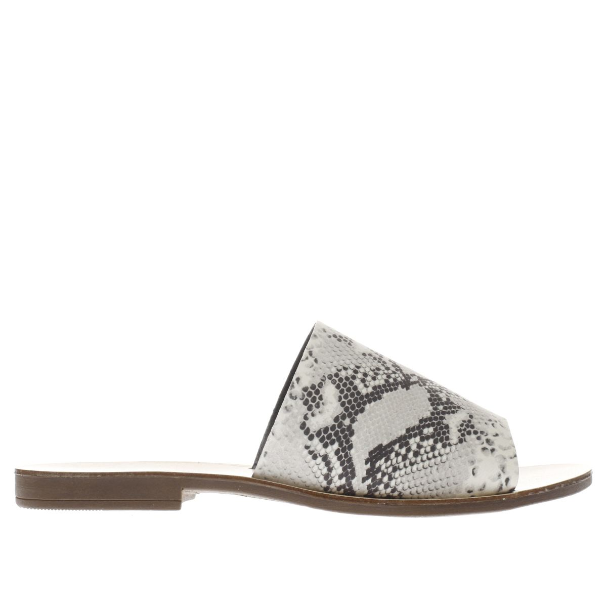 schuh grey & black bali snake sandals