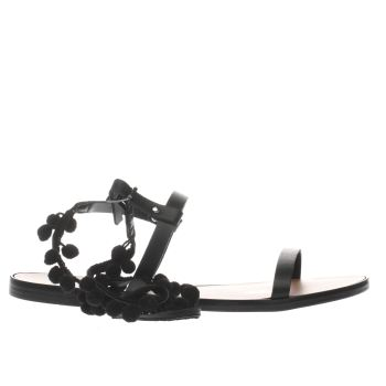 Schuh Black St Tropez Womens Sandals