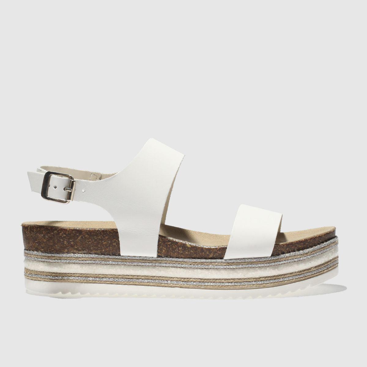 Schuh White Orlando Sandals