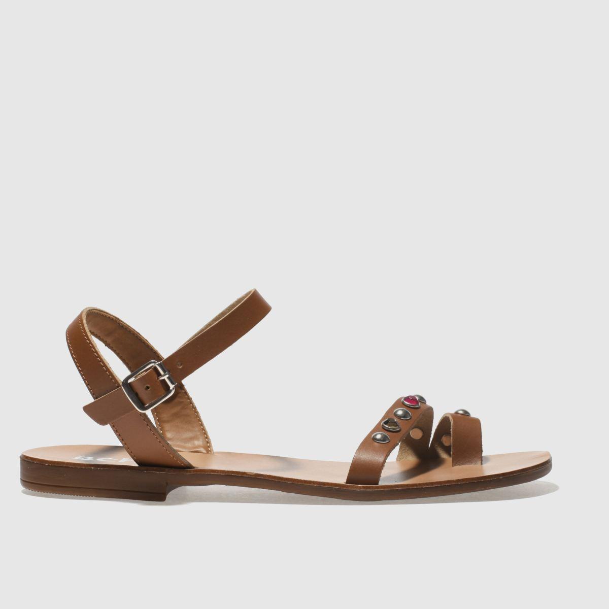 schuh Schuh Tan Cannes Sandals