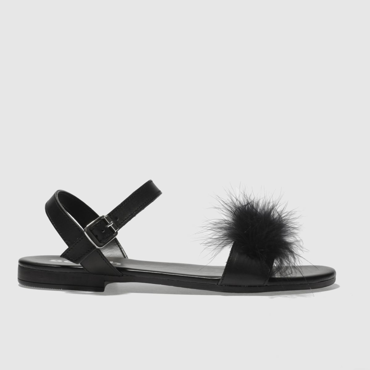 Schuh Black Antigua Sandals