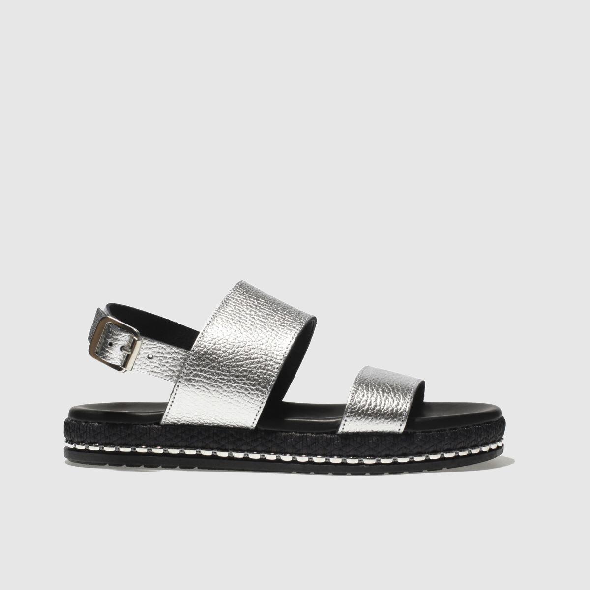 schuh Schuh Silver Melbourne Sandals