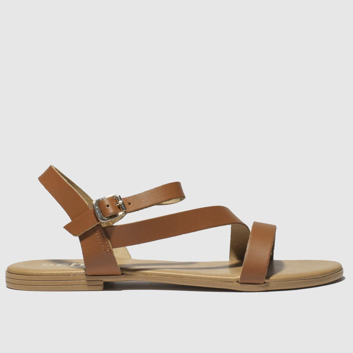 schuh Schuh Tan Sicily Sandals