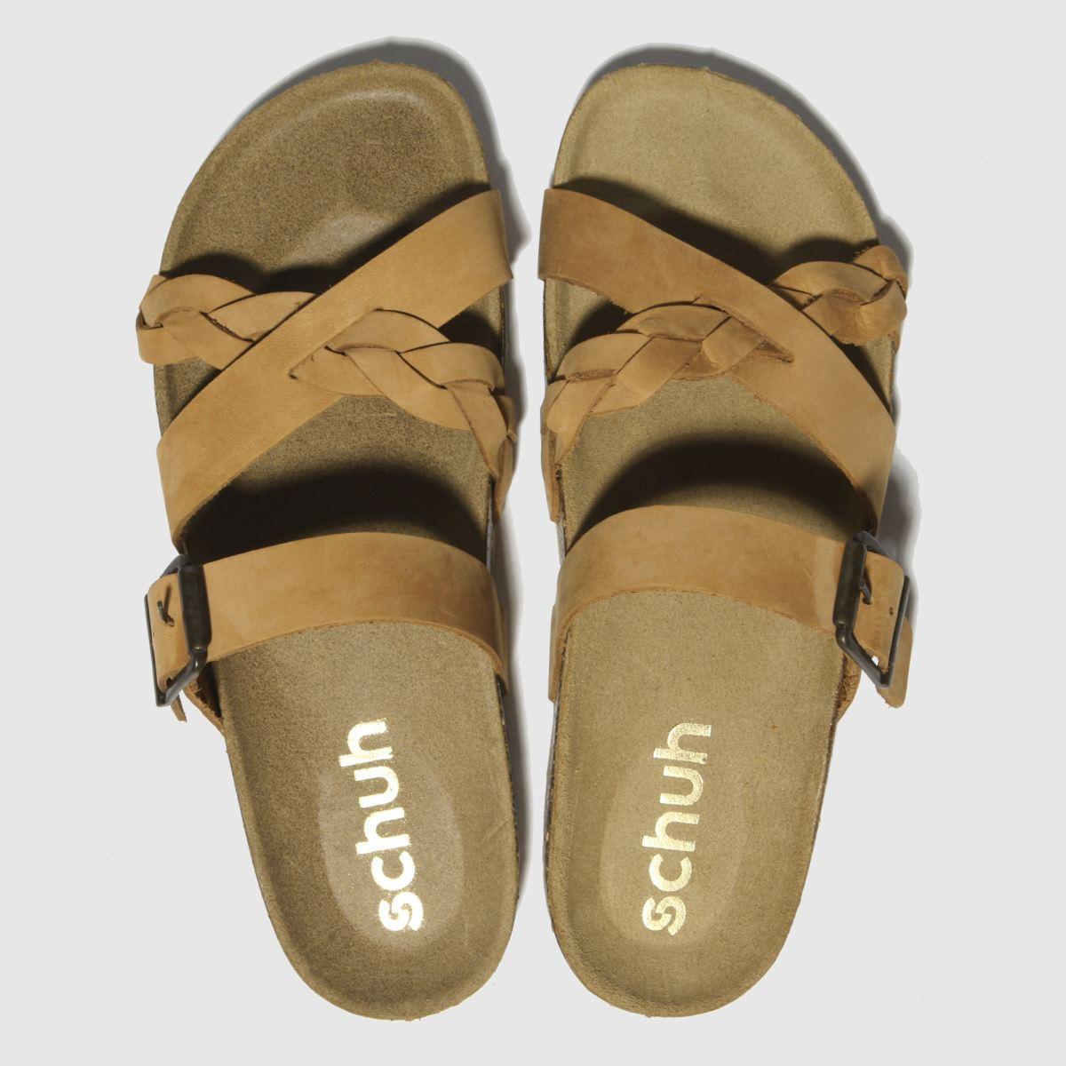 schuh Schuh Tan Astrology Sandals