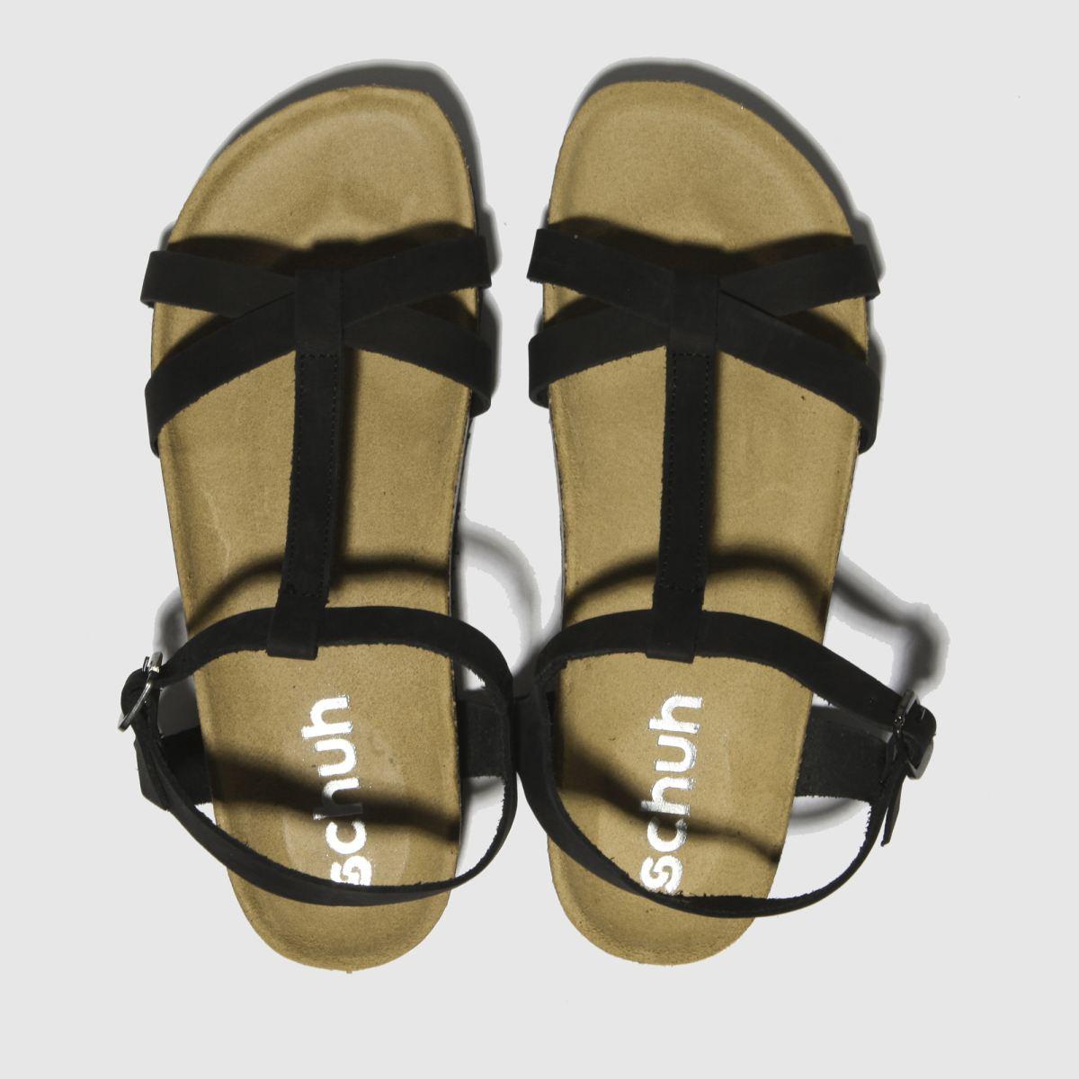 schuh Schuh Black Cancun Sandals