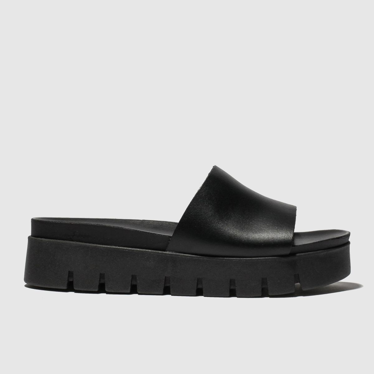 schuh Schuh Black Faro Sandals