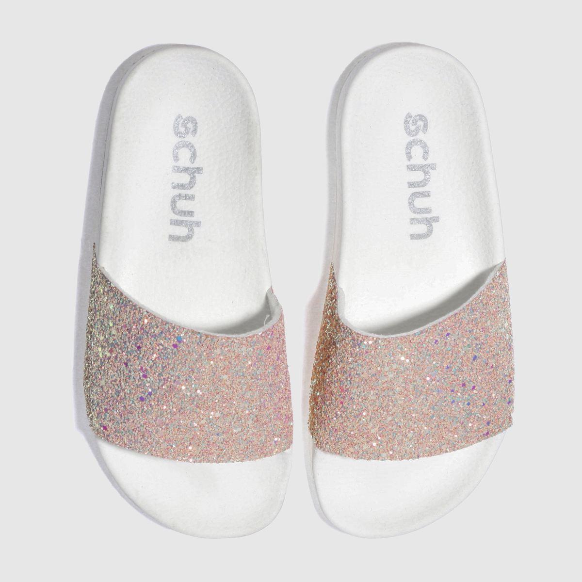 schuh pale pink proper boss sandals