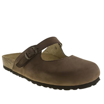 womens schuh dark brown explore sandals