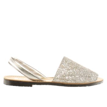 Schuh Silver Barcelona Sandals