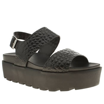 womens schuh black lifes a beach sandals