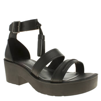 Schuh Black Anonymous Sandals