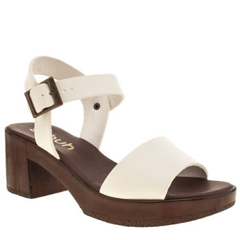 Schuh White Bright N Breezy Womens Sandals