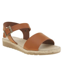 Schuh Tan Notion Womens Sandals