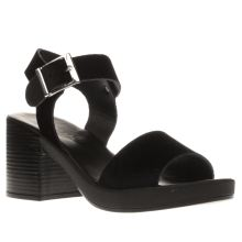 Schuh Black Hang Out Sandals
