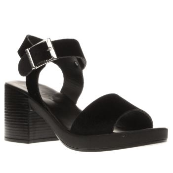 Schuh Black Hang Out Womens Sandals
