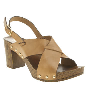 Womens Schuh Natural Dancer Sandals