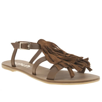 Schuh Tan Giddy Sandals