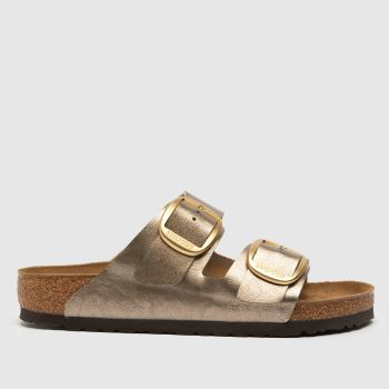 Birkenstock Gold Madrid Mirror Sandals