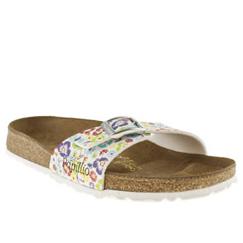 Womens Birkenstock Multi Madrid Iv Wildflower Sandals