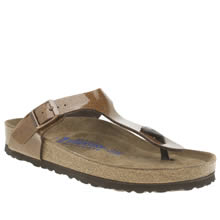 Birkenstock Bronze Gizeh Magic Galaxy Womens Sandals