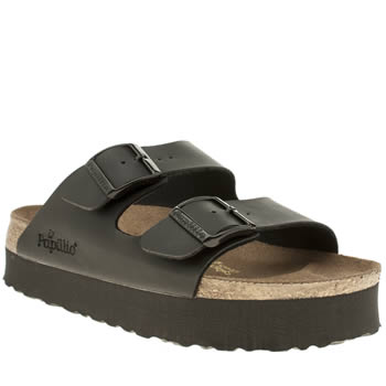 Birkenstock Black Arizona Chunky Sandals