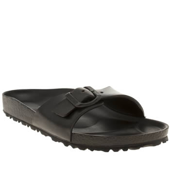 Womens Birkenstock Black Madrid Eva Sandals