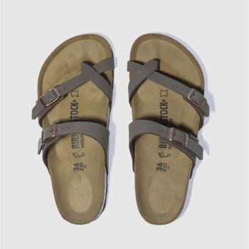 Birkenstock Brown Mayari Womens Sandals