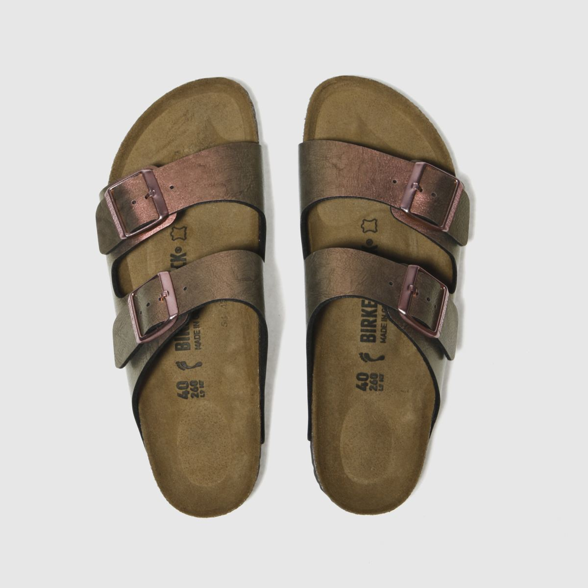 Birkenstock Pink Arizona Graceful Gemm Sandals