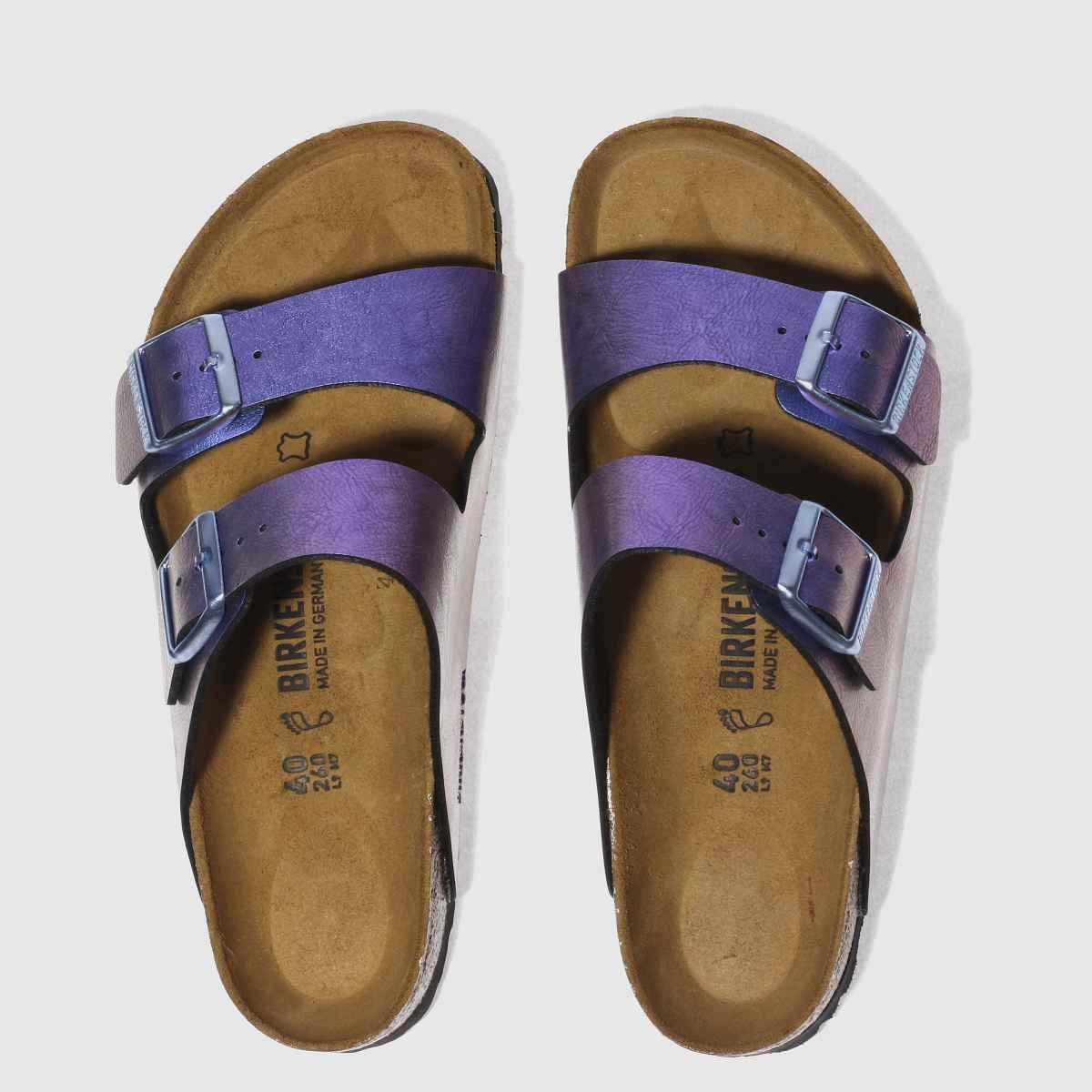 Birkenstock Purple Arizona Graceful Gemm Sandals