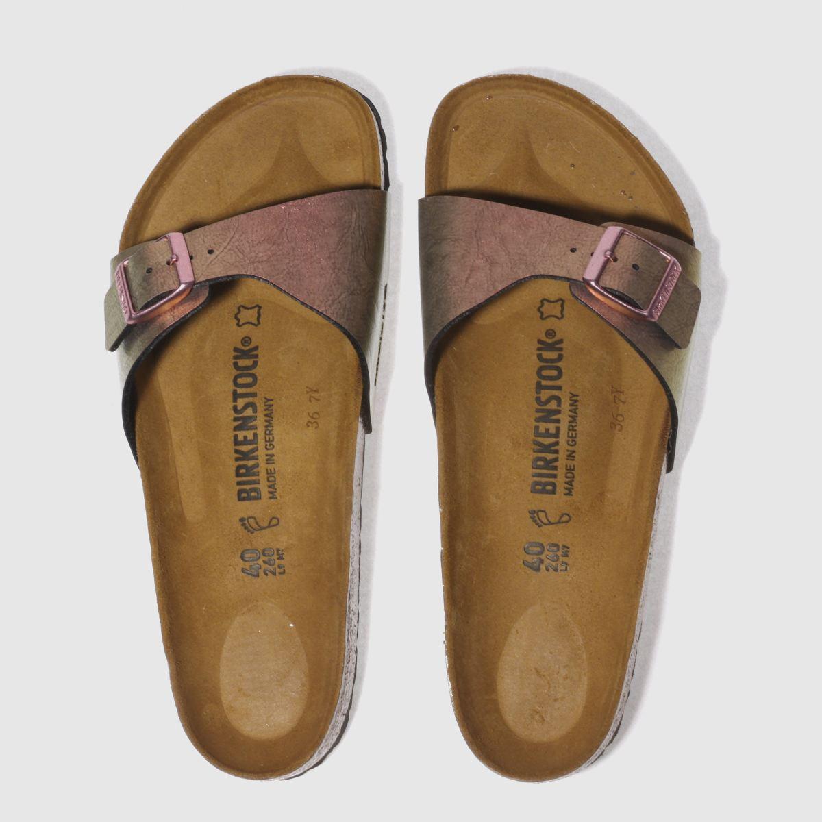 Birkenstock Pink Madrid Graceful Gemm Sandals