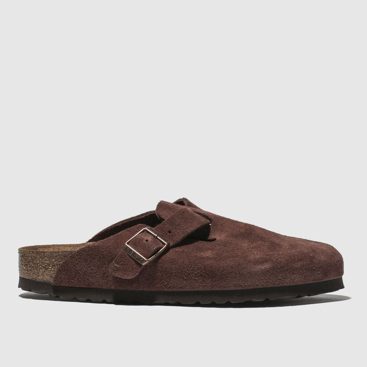 Birkenstock Burgundy Boston Sandals