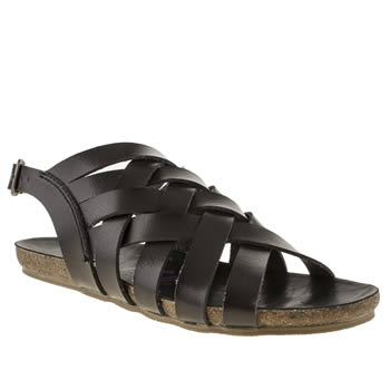 Blowfish Black Goette Sandals