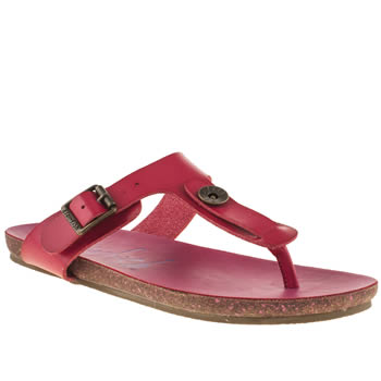 womens blowfish pink granola sandals