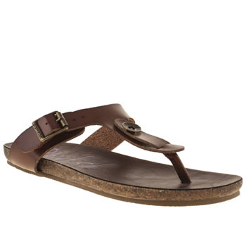 Blowfish Tan Granola Greco Sandals