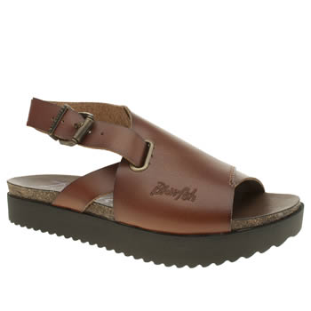 Womens Blowfish Tan Avril Sandals