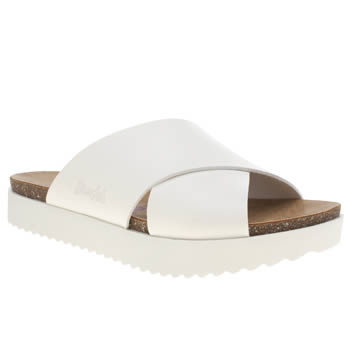 Womens Blowfish White Ashbury Sandals