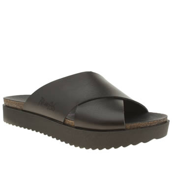 Womens Blowfish Black Ashbury Sandals