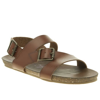 Womens Blowfish Brown Gard Sandals