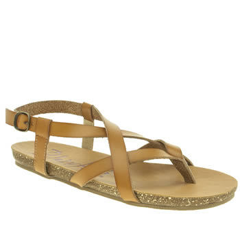 Womens Blowfish Tan Granola Sandals