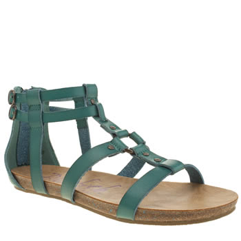 Womens Blowfish Turquoise Gotten Sandals
