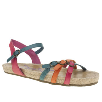 Blowfish Multi Glexi Womens Sandals