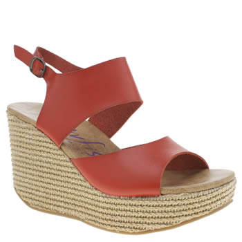 Blowfish Red District Womens Sandals