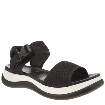 Blowfish Black & White Footfree Womens Sandals