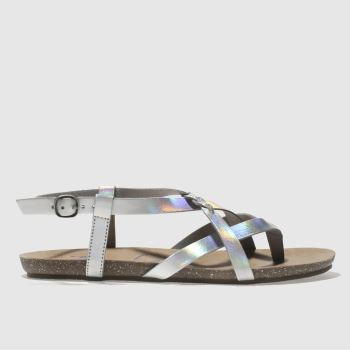 Blowfish Silver Granola B Womens Sandals