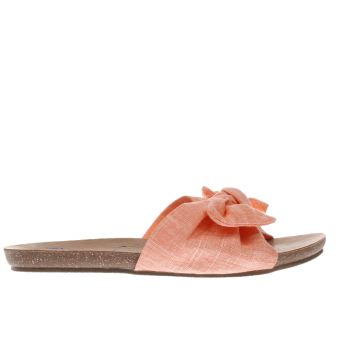 Blowfish Orange Ginah Womens Sandals