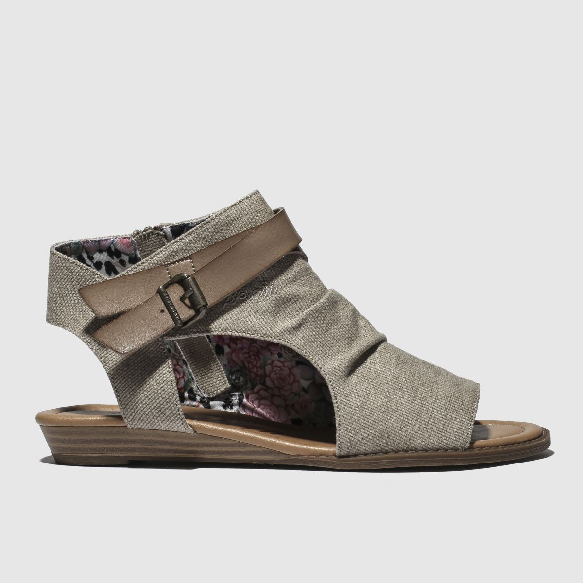Blowfish Beige & Brown Balla Sandals