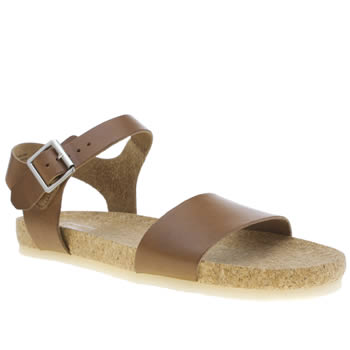 Clarks Originals Tan Dusty Soul Sandals