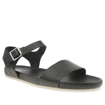 Clarks Originals Black Dusty Soul Sandals