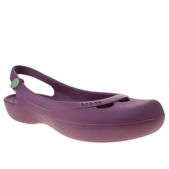 womens crocs purple jayna sandals